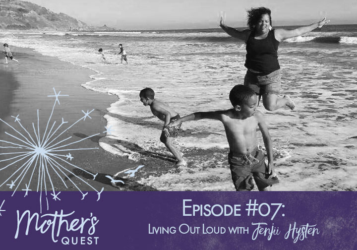 Ep 07: Living Out Loud with Jenjii Hysten