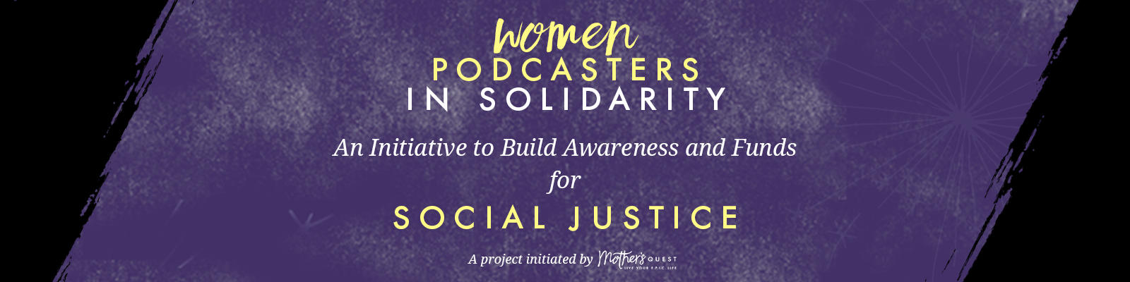 Women Podcasters in Solidarity
